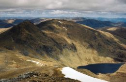 An Stuc and Meall Gard from Ben Lawer
