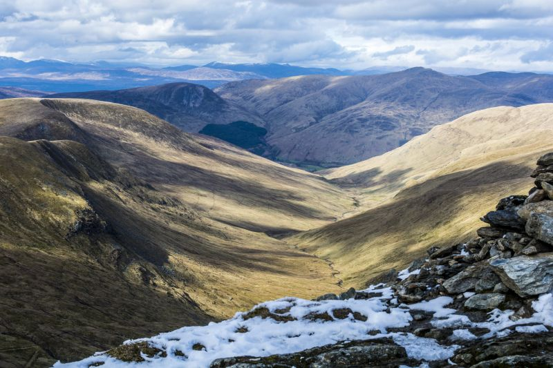 Beinn Ghlas and Ben Lawers