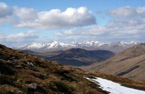 Ben Lawers range Scotland