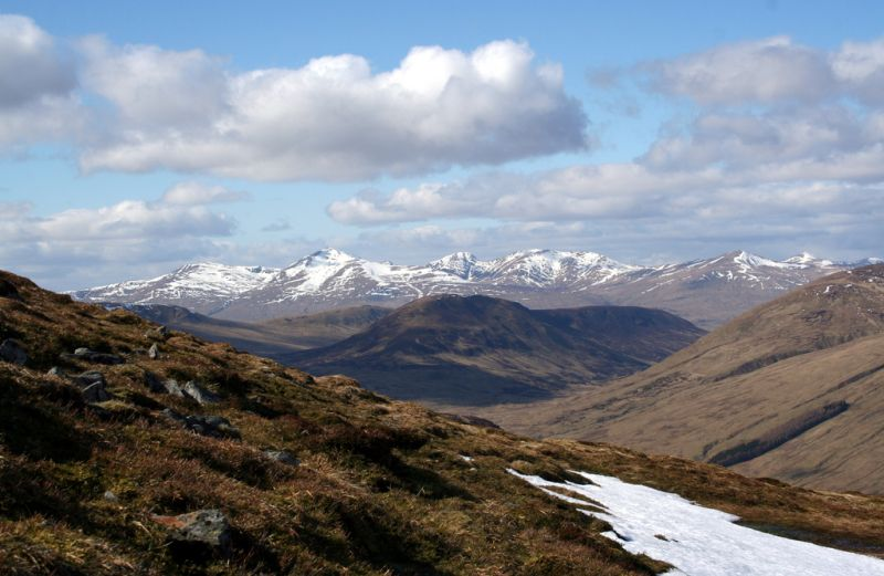 Ben Lawers range Scotland