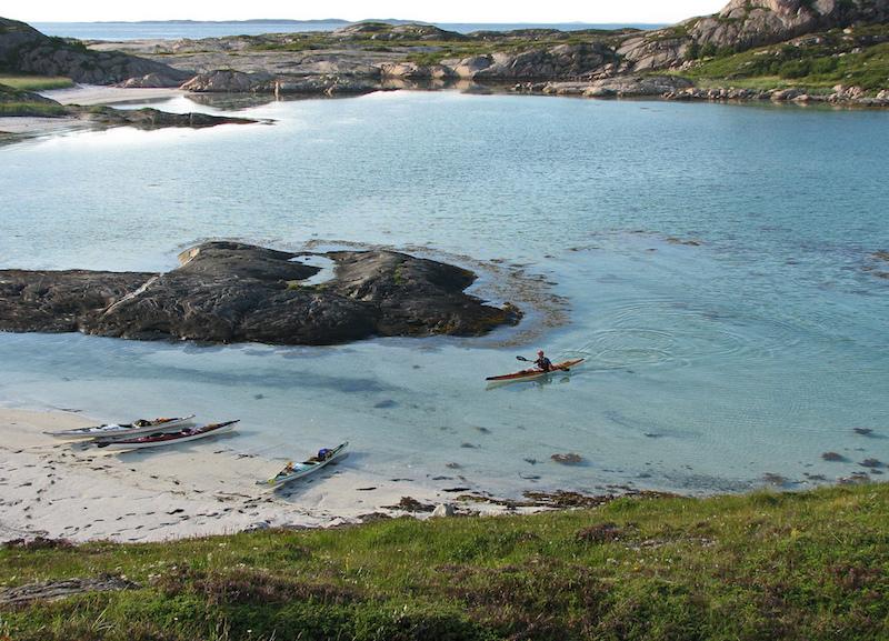 Kayaking the Helgeland Coast