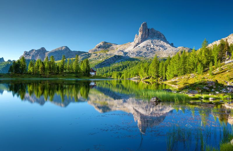 Lago Federa Italy