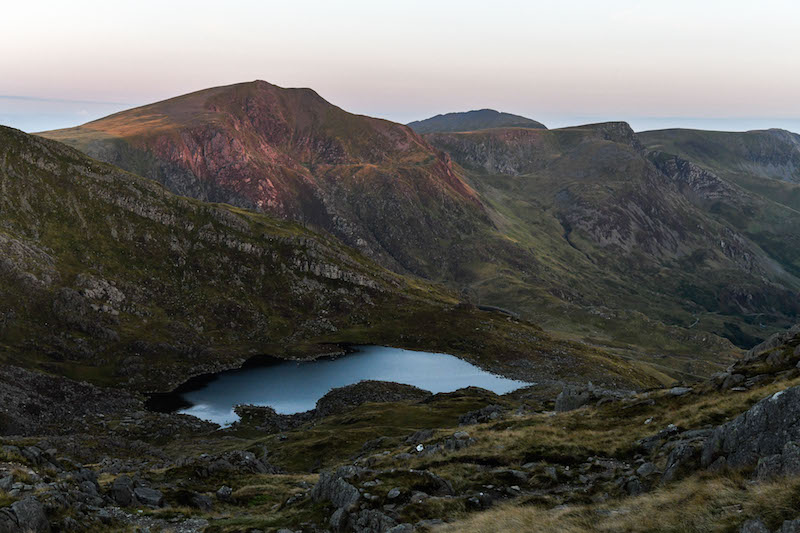 View from Tryfan