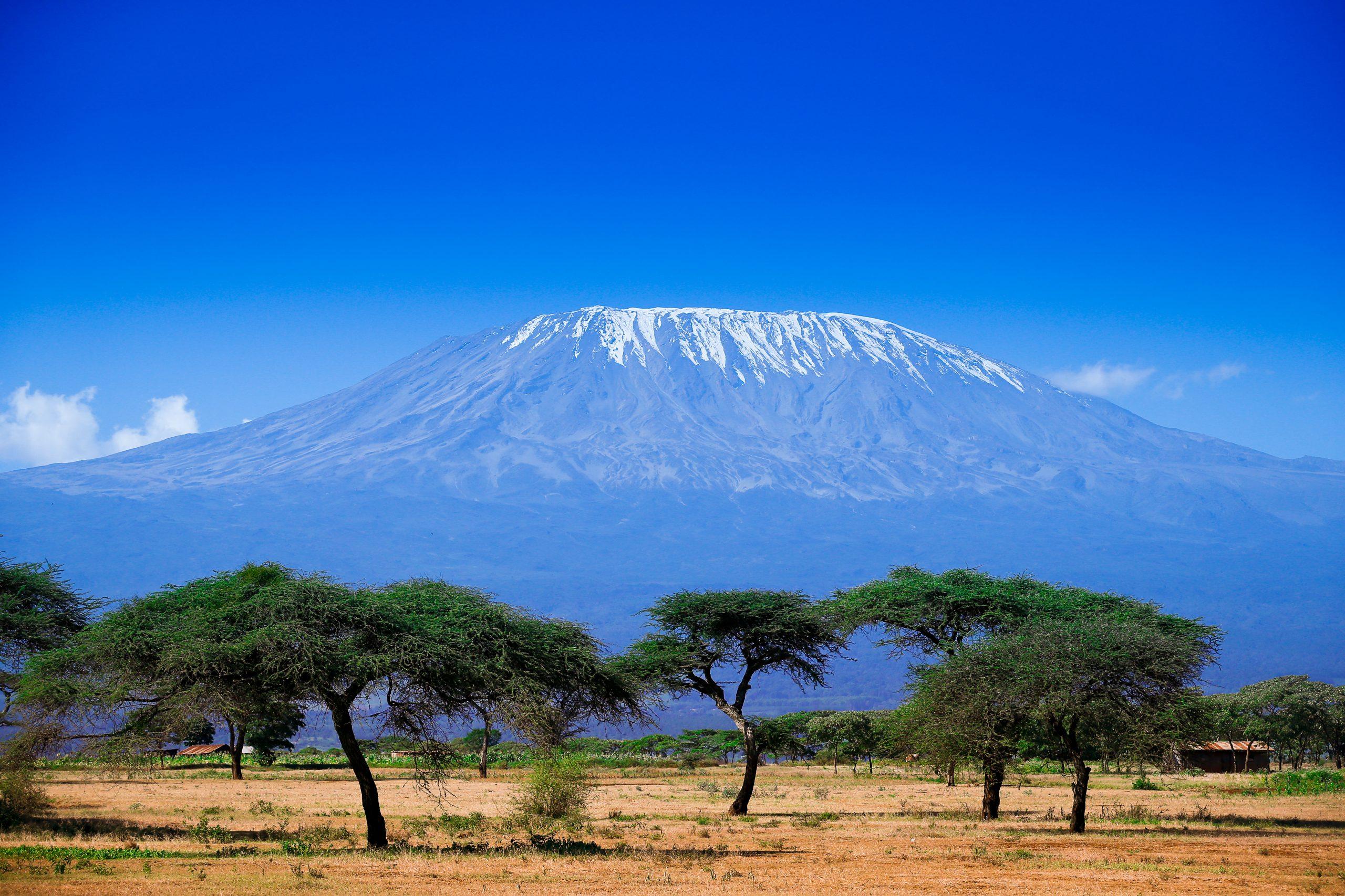 Mount Kilimanjaro in Tanzania
