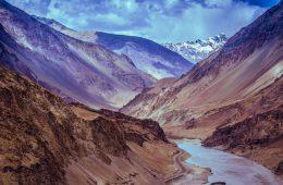 Mountains in Ladakh India