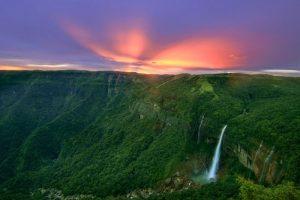 Nohkalikai Falls,Meghalaya