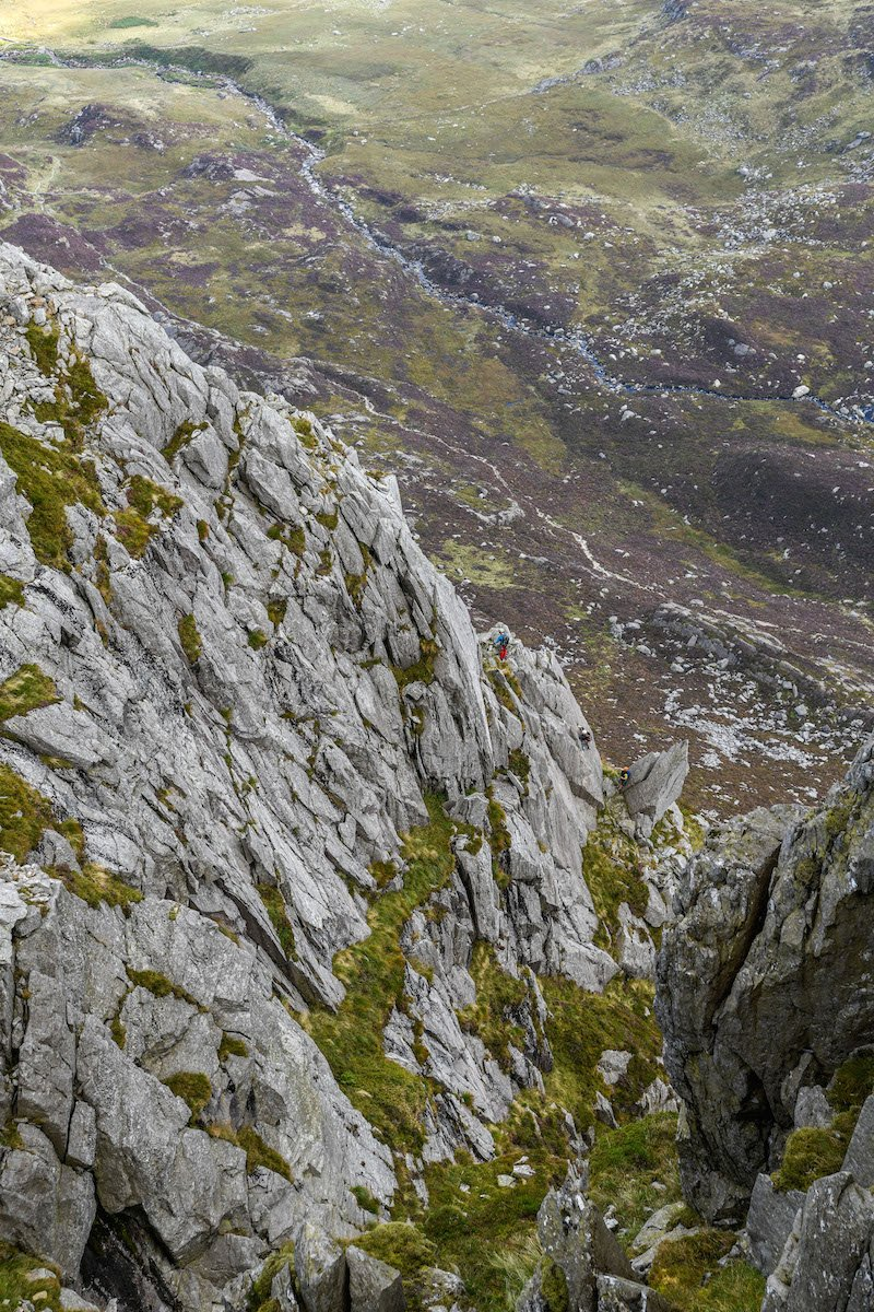 People on Tryfan