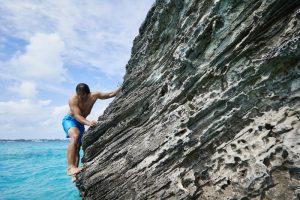 Rock climbing Bermuda