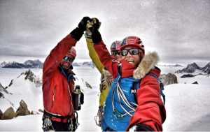 Spectre Summit Leo Houlding