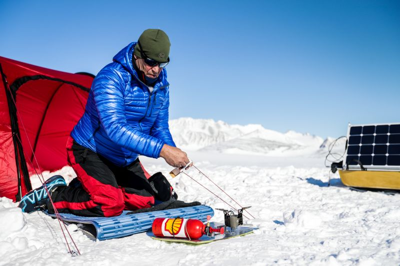 Robert Swan Tests Advanced Biofuels Used for the World's First Expedition to the South Pole Using Only Renewable Energy