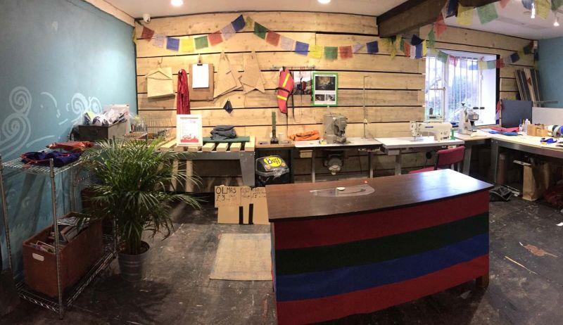 Alpkit store repair station