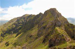 Aonach Eagach ridge Scotland