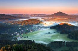 Bohemian Switzerland the Czech Republic