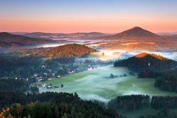 Bohemian Switzerland the Czech Republic