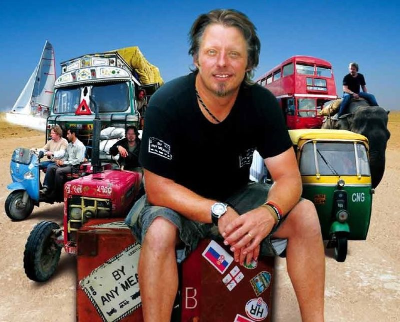 By Any Means tv series Charley Boorman