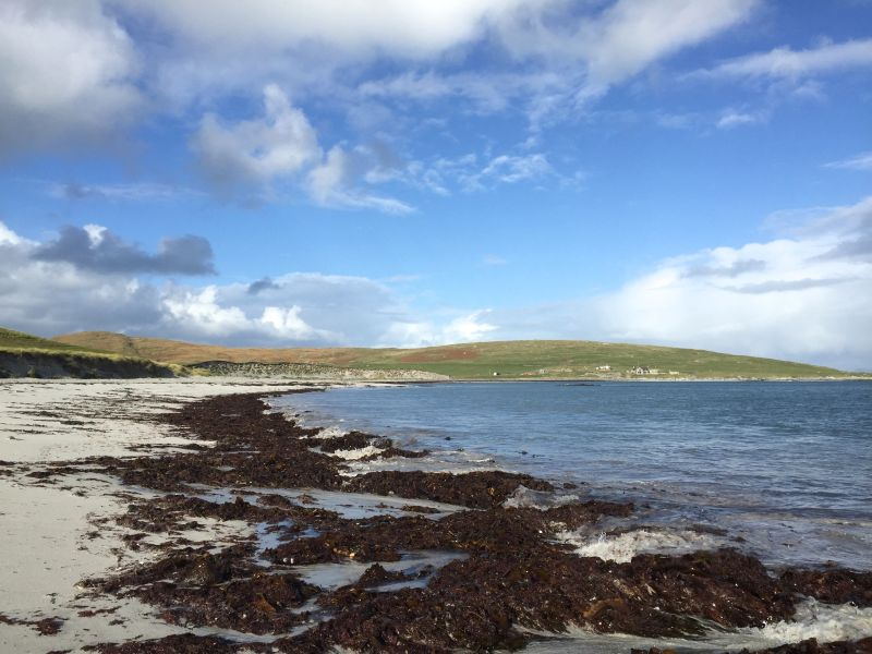 Coastal view Outer Hebrides