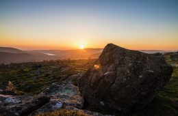Dartmoor Landscape Sunset