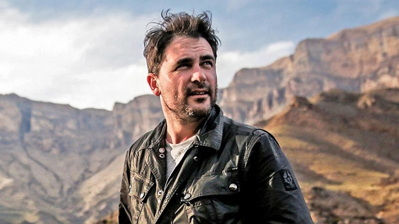 From Russia to Iran tv series Levison Wood