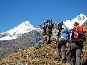 Hiking Alpamayo in Peru