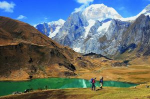 Hiking Huayhuash in Peru
