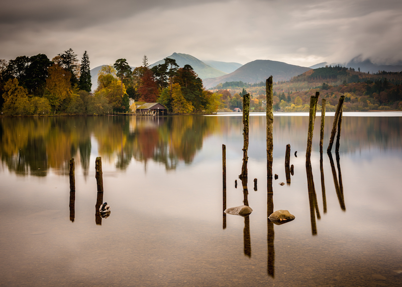Derwent Water, the Lake District - how to take good photos when it's cloudy