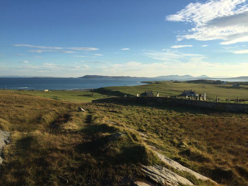 Landscape view Outer Hebrides