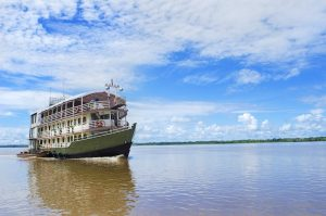 Riverboat on the Amazon
