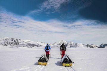 Robert Swan Barney Swan Antarctica expedition