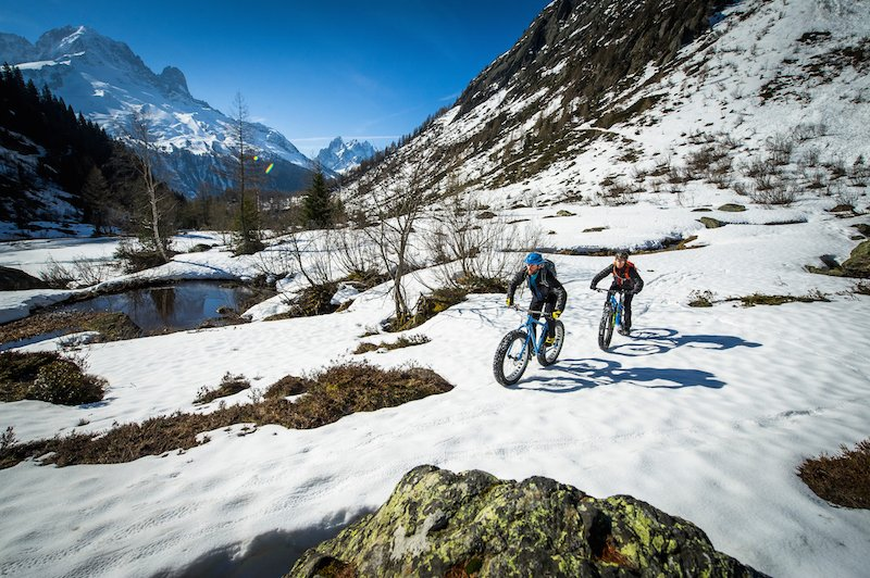 Sub Zero fat biking