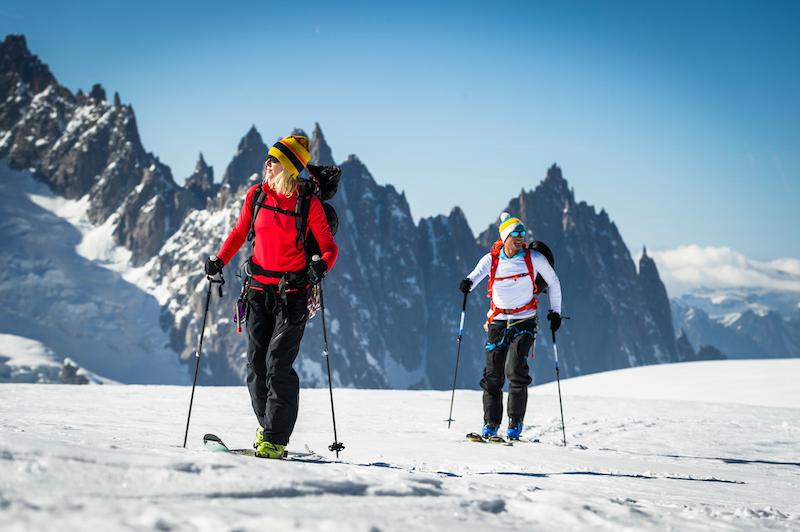 Sub Zero ski tour