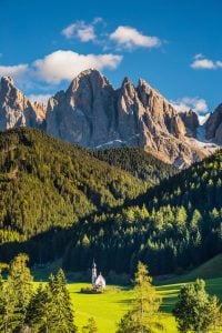 The Dolomites in Italy