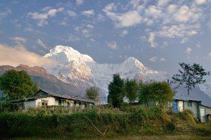 Trekking the Annapurna region in Nepal