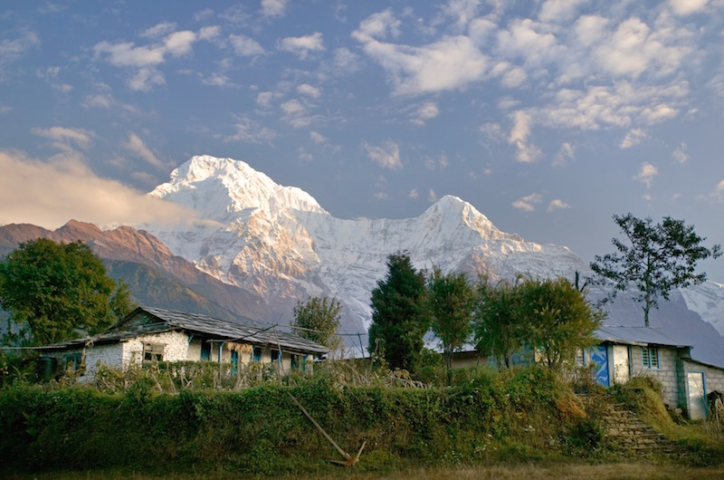 Trekking the Annapurna region in Nepal