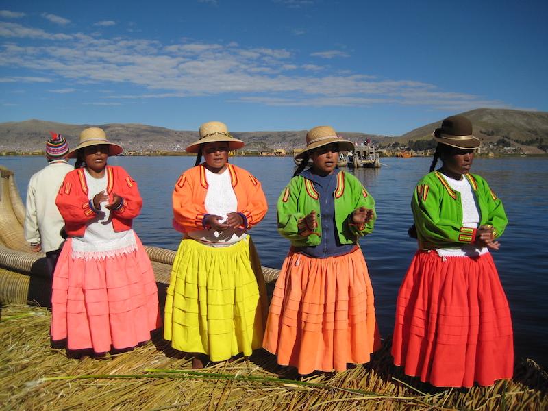 Uros Island in Peru