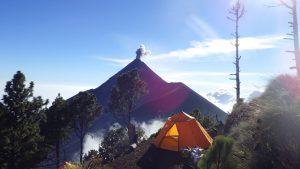Volcan Fuego in Guatemala