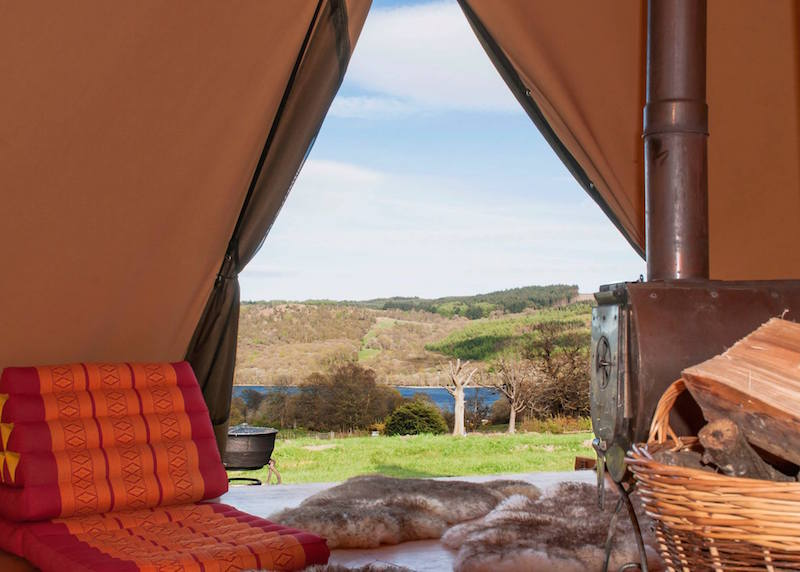 BaseCamp Tipi in the Lake District