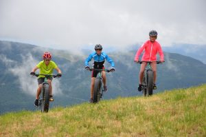 Fat biking in the Southern French Alps