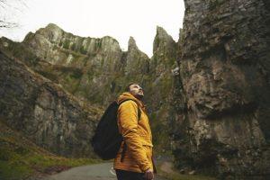 Hiker Cheddar Gorge