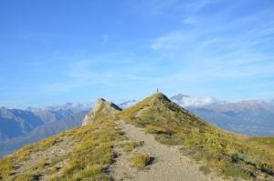 Hiking in the Southern French Alps