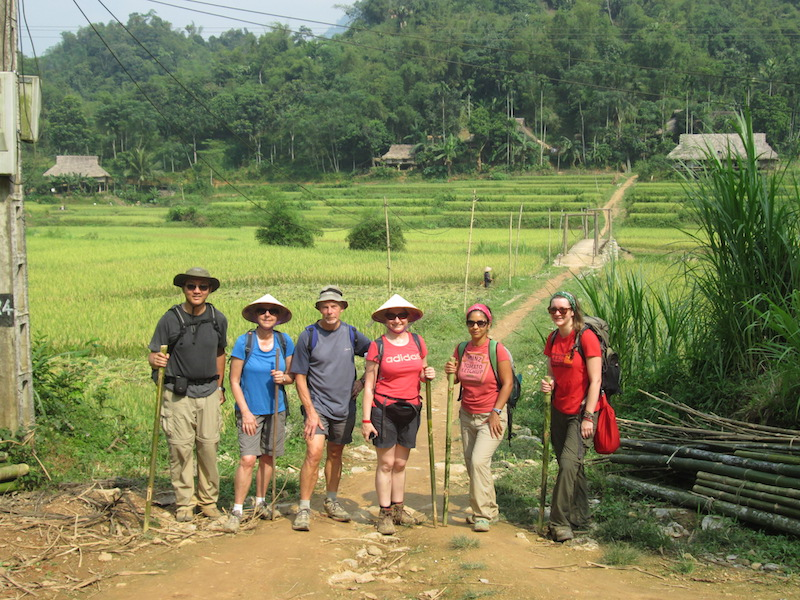 Hiking in Vietnam - travelling with strangers
