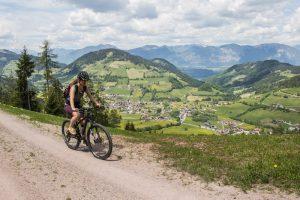 Mountain biking in Wildschonau, Austria