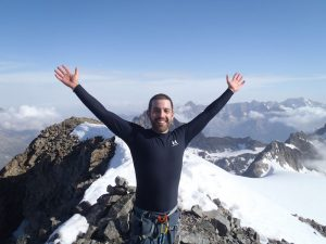 Mountaineering in the Southern French Alps