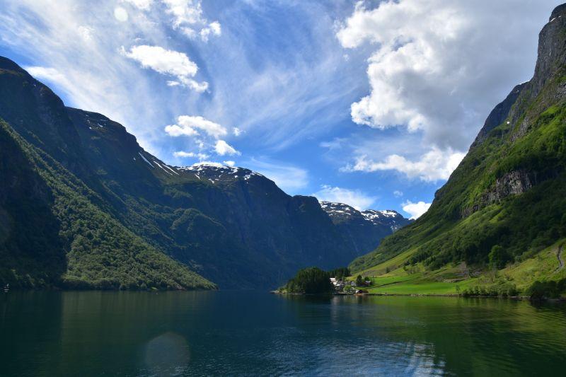 Naeroyfjord Norway