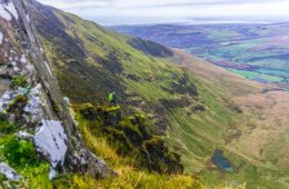 Nantle Ridge, Snowdonia, Wales