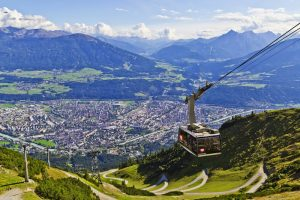 Nordkette Cable Car in Innsbruck