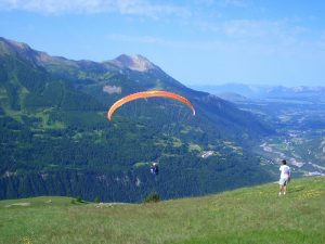 Paragliding in the Southern French Alps