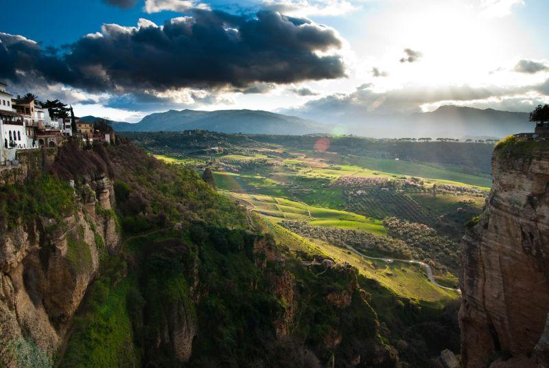 Ronda, Spain landscape