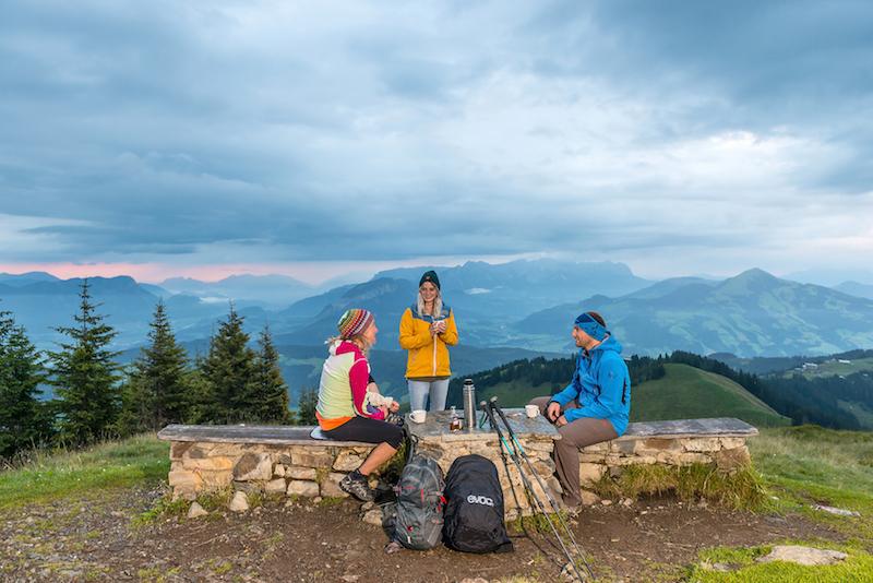 Rosskopf hiking, Wildshanau, Austria