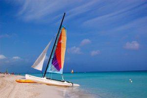 Sailing in Cuba