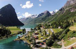 campsite Norway